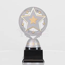 Star Torch Silver 150mm
