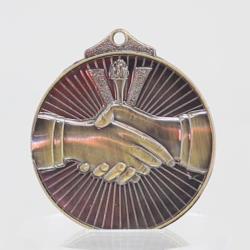 Embossed Handshake Medal 52mm