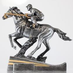 Horse Racing Trophy 180mm