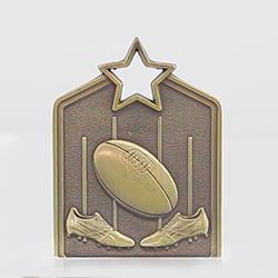 Shield Medal AFL 60mm Gold