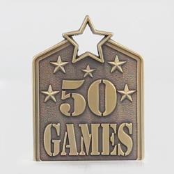 Shield Medal 50 Games 60mm