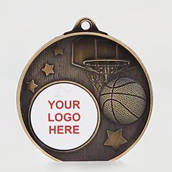 Stellar Basketball Logo Gold