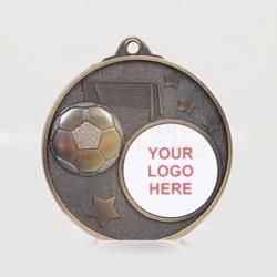 Stellar Soccer Logo Medal