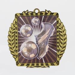 Lynx Wreath Soccer Theme Gold
