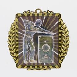 Lynx Wreath Pool/Snooker Medal Gold