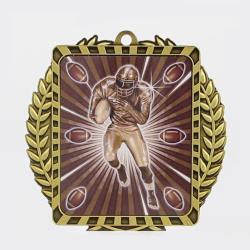 Lynx Wreath American Football Gold
