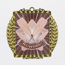 Lynx Wreath Rowing Medal Gold