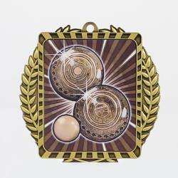 Lynx Wreath Lawn Bowls Gold