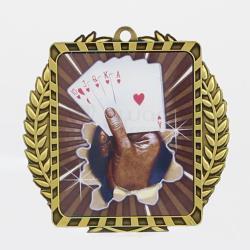 Lynx Wreath Cards Gold