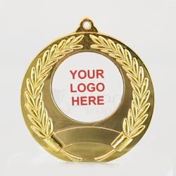 Artemis Personalised Medal 50mm - Shiny Gold