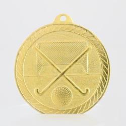 Chevron Hockey Medal 50mm - Gold