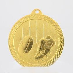 Chevron AFL Medal 50mm - Gold