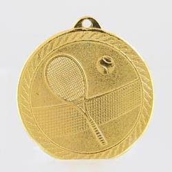Chevron Tennis Medal 50mm - Gold