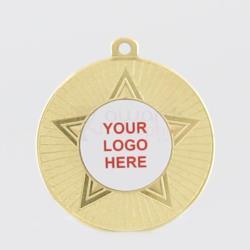 Economy Star Medal 50mm Gold