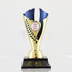 Spirit Cup Gold/Blue 180mm