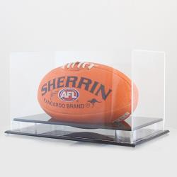 Aussie Rules & Gridiron Ball Display Case