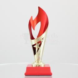 Flame Cup Red/Gold 220mm