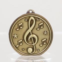 Triumph Music Medal 50mm Gold