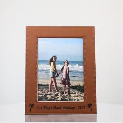 LEATHERETTE PHOTO FRAME 190mm x 240mm