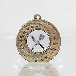 Wayfare Medal Cooking - Gold 50mm