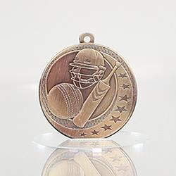 Cricket Wayfare Medal Gold 50mm
