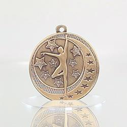 Dance Wayfare Medal Gold 50mm