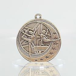Gymnastics Wayfare Medal Gold 50mm