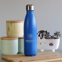 A&T INSULATED WATER BOTTLE 500ML - DARK BLUE
