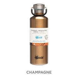 Cheeki Insulated Water Bottle 600ml - Champagne