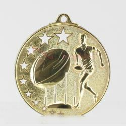 Aussie Rules Star Medal 50mm Gold