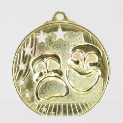 Star Drama Medal 52mm Gold