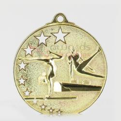 Star Gym Medal 52mm Gold