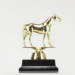 Thoroughbred Horse figurine on base 130mm
