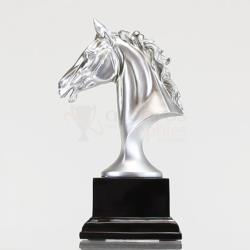Silver Horse Head 200mm