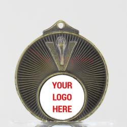 Victory Personalised Medal 50mm Gold