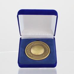 Gold Cricket Coin in Case
