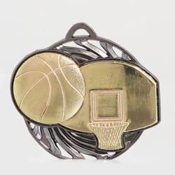 Vortex Basketball Medal 55mm Gold