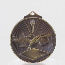 Embossed Knowledge Medal 52mm Gold