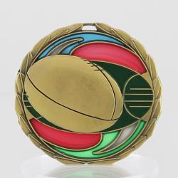 Stained Glass AFL Medal 65mm