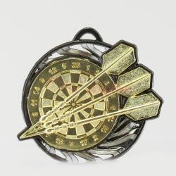 Vortex Darts Medal 55mm Gold