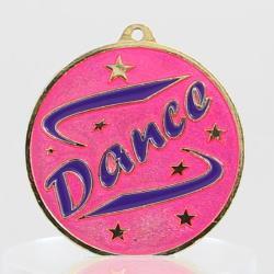 Pink Dance Medal 50mm