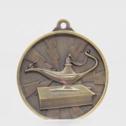 Lightning Knowledge Medal 55mm Gold
