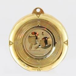 Deluxe Table Tennis Medal 50mm Gold