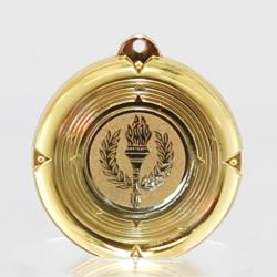 Deluxe Victory Medal 50mm Gold