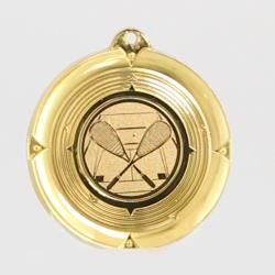 Deluxe Squash Medal 50mm Gold