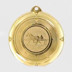 Deluxe Trotting Medal 50mm Gold