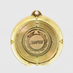 Deluxe Champion Medal 50mm Gold