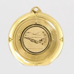Deluxe Trap Shooting Medal 50mm Gold