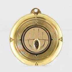 Deluxe AFL Medal 50mm Gold