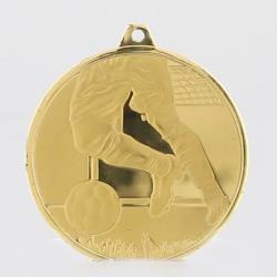 Glacier Soccer Medal 50mm Gold